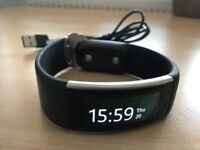Microsoft Band 2 Black Fitness and Activity Tracker with built in GPS -Good Condition