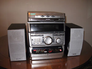 SONY RXD5 MINI STEREO SYSTEM