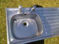 Stainless Steel sink top with taps