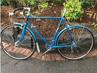 WANTED 50's/60's/70's VINTAGE RACER ROAD BIKE RESTORATION PROJECT