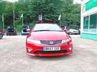 HONDA CIVIC 2.0 i-VTEC Type-R GT ***SATNAV***FULL SERVICE HISTORY*** (red) 2007
