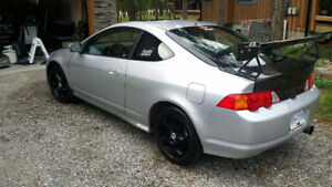 2002 Acura RSX Coupe with many extras added - stock parts also