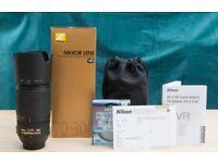 NIKON 70-300mm F/4.5-5.6 AF-S VR IF ED G Lens