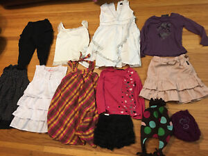 GIRLS CLOTHES SIZE 5-6 years (120cm)