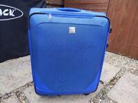 Blue Antler Suitcase