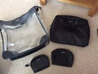 Set of 4 Revlon makeup bags