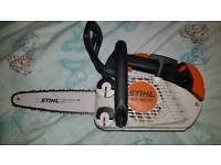 Stihl ms150 chainsaw