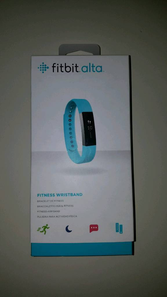 Teal fitbit alta Large