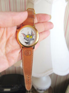 Vintage BEUCHAT (France) Ladies' Watch - Cat & Mouse
