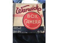 Old Warwicks Box Camera