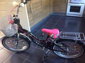 Girls monster high bike £65