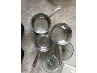 Stainless Steel Pans & Frying Pans
