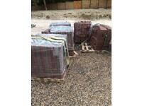 4 and half pack of block paving bricks 20m