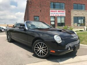 RARE 2002 FORD THUNDERBIRD V8 137,000 $19,999.00 CERTIFIED