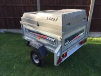 Erde 122 Camping Tipping Trailer with ABS hard Lid / Cover Car