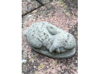 Rabbit Concrete Ornament