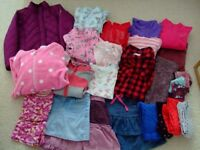 Bundle of girls clothes - suit age 9 - 10 years