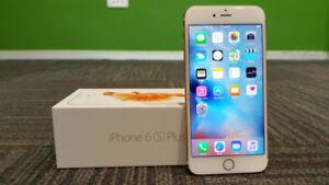 MINT TELUS KOODO APPLE IPHONE 6S PLUS 16GB WHITE GOLD $499