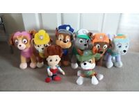 Paw patrol soft toy set