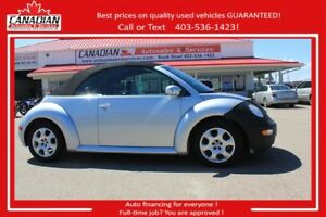 2003 Volkswagen New Beetle GLS $84/SEMI-MONTHLY OAC