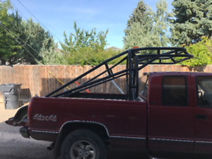 RiGPig Rack for Long Box with Fire Extinquisher Bracket-REDUCED