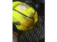 High visibility jackets, new and some still in packets