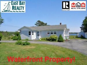 Recently renovated waterfront property, move-in ready!