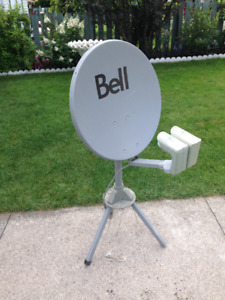 BELL DISH and STAND