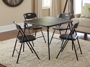 Table with four (4) chairs