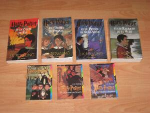 Harry Potter - J.K. Rowling la série au complet (7 tomes)