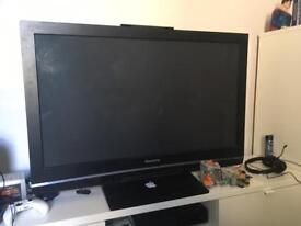 Panasonic 42 inch TV with built in freeview