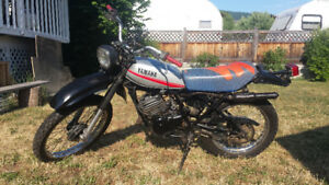 1979 Yamaha DT 175 two stroke