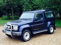 DIAHATSU FOURTRAK LIMITED 2.8 TDL 2000(X) REG **BEST IN THE COUNTY**