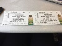 2 tickets for Texas- Glasgow 31st July- open to offers