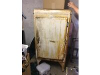 Vintage fridge Electrolux needs restoration