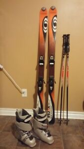 Salomon Verse Downhill Ski Womens set