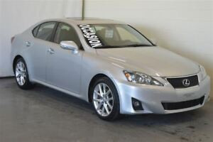 2011 Lexus IS 250 RWD Cuir+Toit Ouvrant Automatique Impeccable !