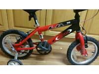 LA BMX bike with stabiliser