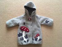 Baby girl wool coat 6 months
