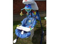 Fisher Price Aquarium Cradle Swing