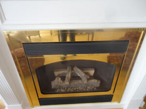 Vintage FIREPLACE SURROUND