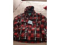 Ski jacket and salopettes size 13