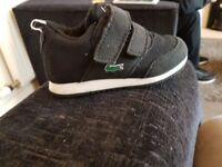 Toddler boys lascote trainers size 6