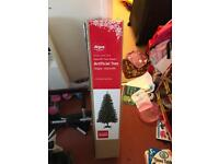 5 feet Christmas tree with lots of decoration