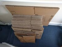 Moving boxes carton cardbox (25+)