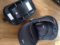 Simplicity car seat and isofix base