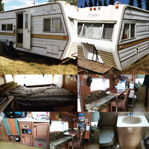 Trailer to be used as, camper, storage, canteen, etc.