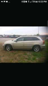 2008 Chrysler Pacifica 7 seater, automatic