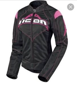 Pink/black icon jacket