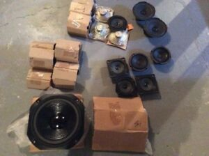 NEW SPEAKER PARTS LOT